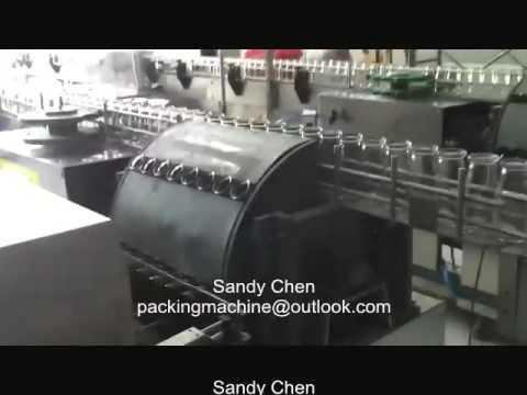 Automatic glass bottle washing machine, beer bottle washing machine