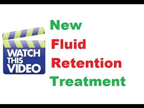Get Rid Of Fluid Retention Reduce Water Weight