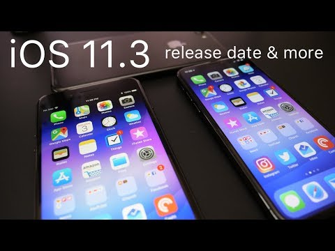 iOS 11.3 - Its release date and new update schedule