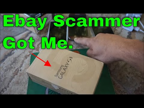EBAY SCAM SAMSUNG GALAXY S5 S6, FAKE DEAL USED PHONE IN OEM BOX