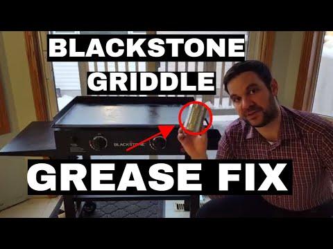 Blackstone Griddle Grease Trap Fix