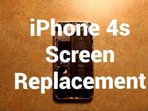 iPhone 4s LCD Screen Replacement How To Change