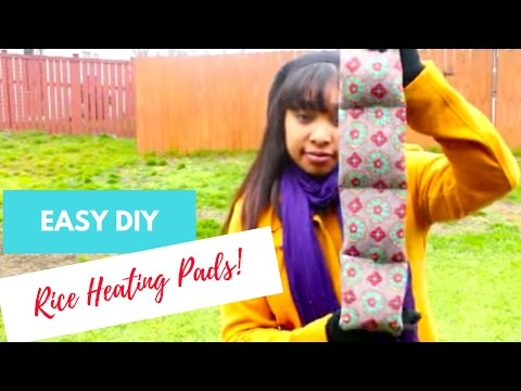 How to Make Rice Heating Pads | Tutorial
