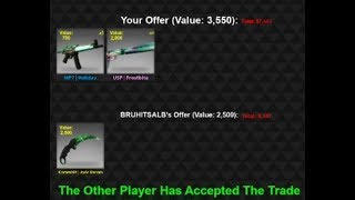 Trade Reviews || Counter Blox Trading || Butterfly Knife CF