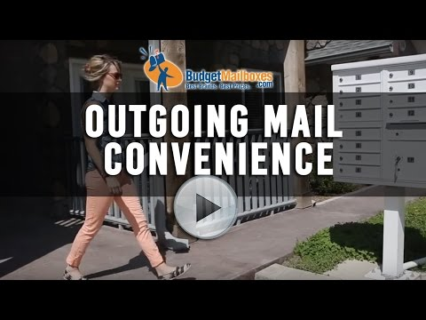 Florence Manufacturing | Outgoing Mail Convenience | Budget Mailboxes