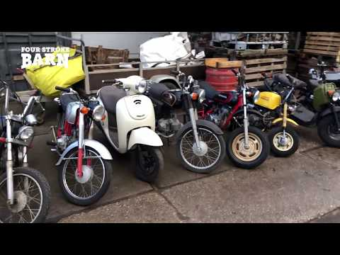Japan import Honda classic four stroke bikes for sale - February 2018