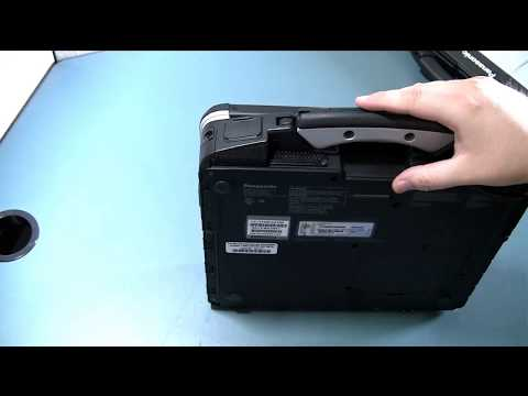 How to Locate the Serial Number and Model Number on any Toughbook