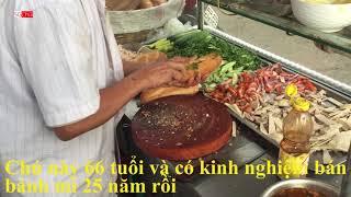 Độc Lạ Xe Bánh Mì Của Người đàn ông U60 ở Sài Gòn