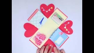 Download SNSで流行の激カワプレゼントボックスの作り方♪ Video