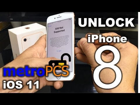 How To Unlock iPhone 8 from Metro PCS to any carrier