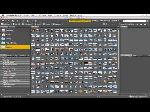 Bridge CS6 : Comprendre l'interface de Bridge