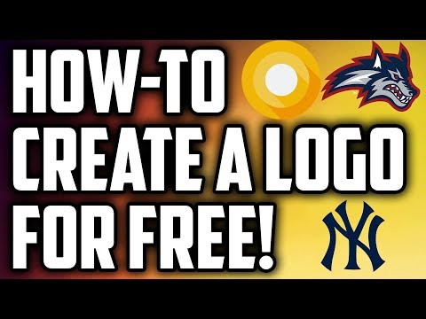 Design a Logo for FREE and Download  || 2017
