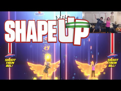 Shape Up (Xbox One Kinect Fitness Game w/ Webcam & Wife)