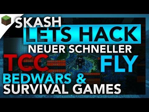 Schnellerer Fly für das Gomme Anticheat! - Minecraft Lets Hack: Bedwars