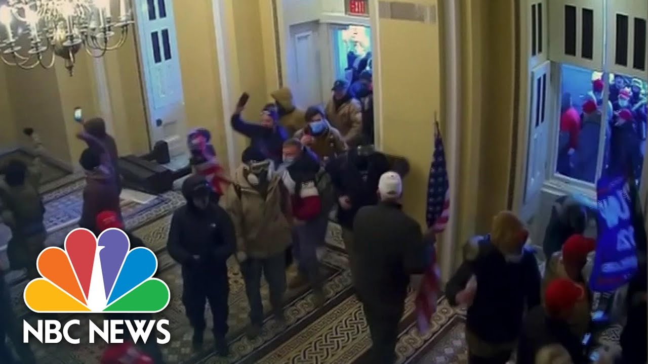 Full Video: Impeachment Managers Show New Graphic Security Footage Of Capitol Riot | NBC News