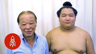 The Hairdresser to Japan's Sumo Wrestling Elite