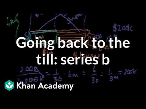 Going back to the till: Series B   Stocks and bonds   Finance & Capital Markets   Khan Academy