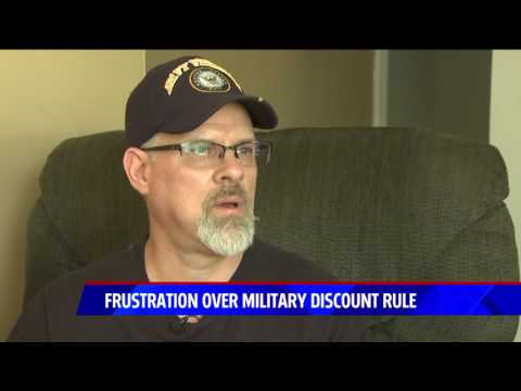 Military Discount Denied