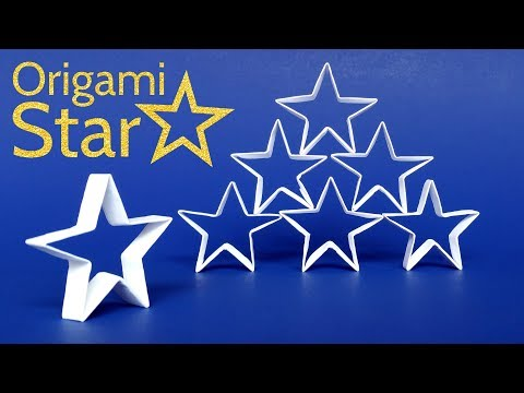 Origami Christmas Star Tutorial ☆ How to Make an Easy DIY Paper Star
