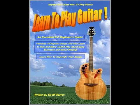 Learn to Play Guitar e-Book, by Geoff Warren