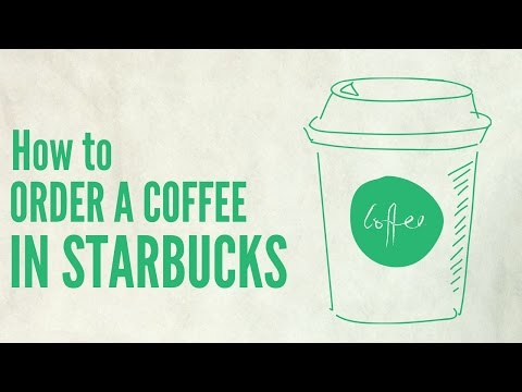 How to order a coffee in Starbucks | English lesson