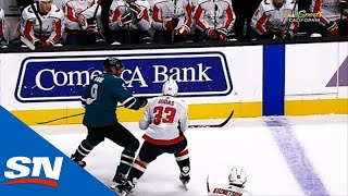 Evander Kane Ejected After Hitting Radko Gudas In The Head