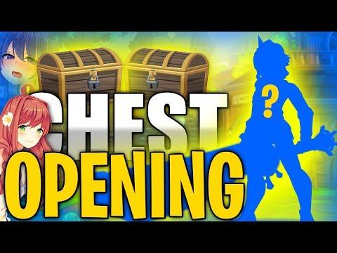 AQW Treasure Chest Opening AdventureQuest Worlds!