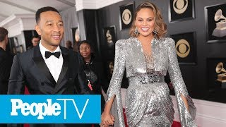 Chrissy Teigen Opens Up About In Vitro Fertilization, Why She Harvested More Embryos | PeopleTV