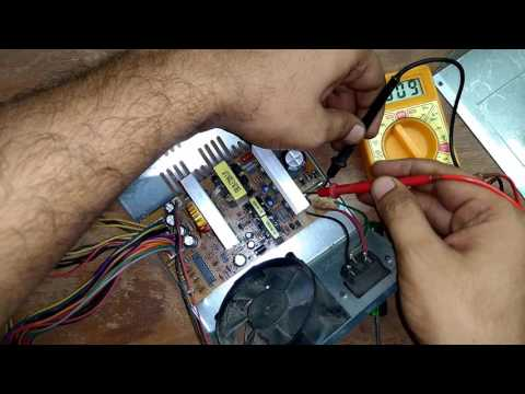 How to Repair SMPS in हिंदी, Switch Mode Power Supply Repair in Hindi Step By Step 100%