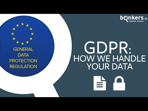 GDPR: How we handle your data
