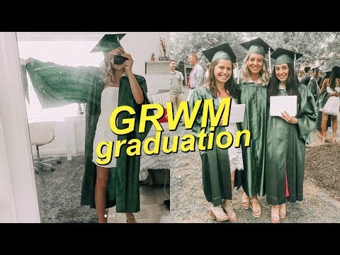 GRWM for Graduation + Vlog!! // Class of 2018!