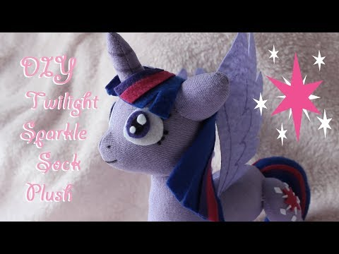 ❤ DIY Princess Twilight Sparkle Sock Plush! MLP FiM Inspired Plushie! ❤