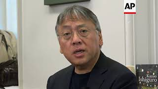 Ishiguro comments on his Nobel prize for literature