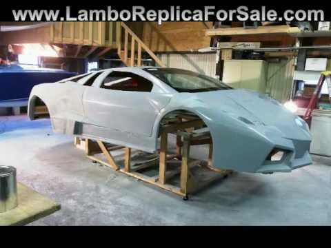 Two Lamborghini Reventon Replicas Coming Soon.  Lamborghini Kit Car Builds