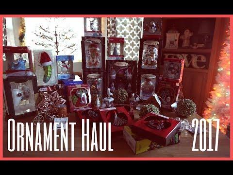 Huge Ornament Haul   2017