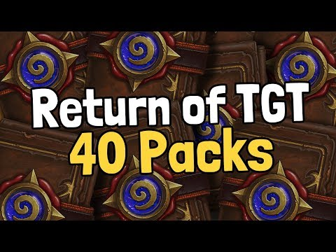 The Return of The Grand Tournament with 40 Packs! - Hearthstone