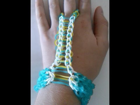 NEW!! Finger Chain (Rainbowloom)(Crazyloom)