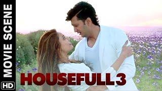 Lisa Haydon loves Riteish | Housefull 3 | Movie Scene