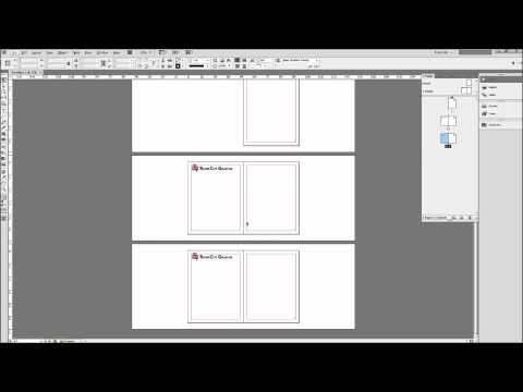 InDesign Tutorial: Using Master Pages to Create Templates -HD-