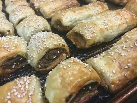 How To Make Spiced Lamb Sausage Rolls