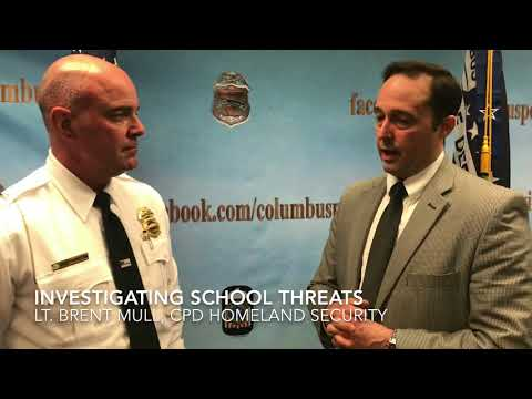 SCHOOL THREATS, ARRESTS & INVESTIGATIONS BY COLUMBUS DIVISION OF POLICE
