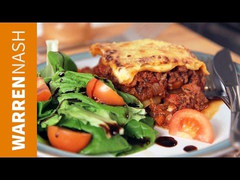My Best Lasagna Recipe - Italian at home - Recipes by Warren Nash