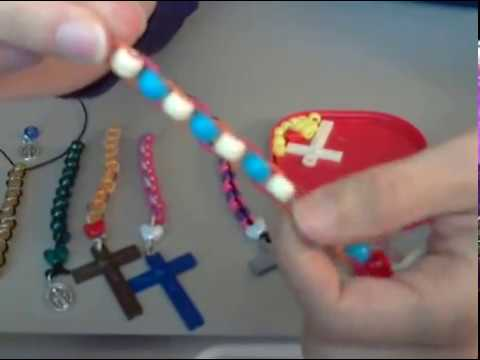 How to make a Ladder Rosary Chaplet (2 Methods)