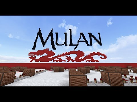 Mulan - I'll Make A Man Out Of You [Minecraft Noteblocks]