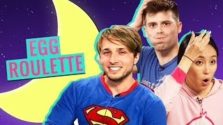 EGG ROULETTE CHALLENGE W/ DAMIEN HAAS AND SHAYNE TOPP