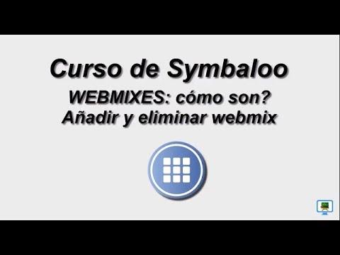 CURSO DE SYMBALOO  (2017)   2.2a.-WEBMIXES: qué son?, Añadir y eliminar bloques (HD)
