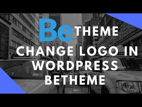 How to change logo in WordPress betheme