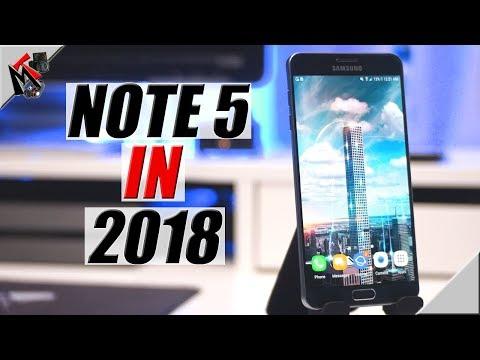 Samsung Galaxy Note 5 In 2018- IS IT WORTH IT?