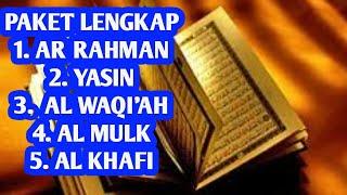 Surah Ar Rahman,Surah Yasin,Surah Al Waqi