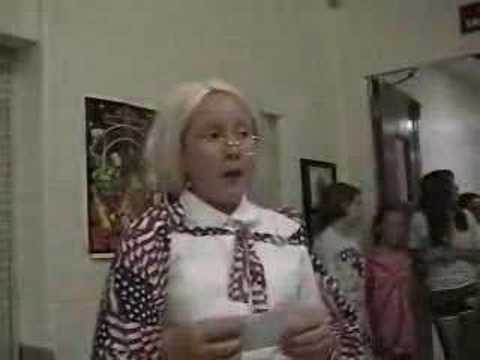 Grace as Betsy Ross